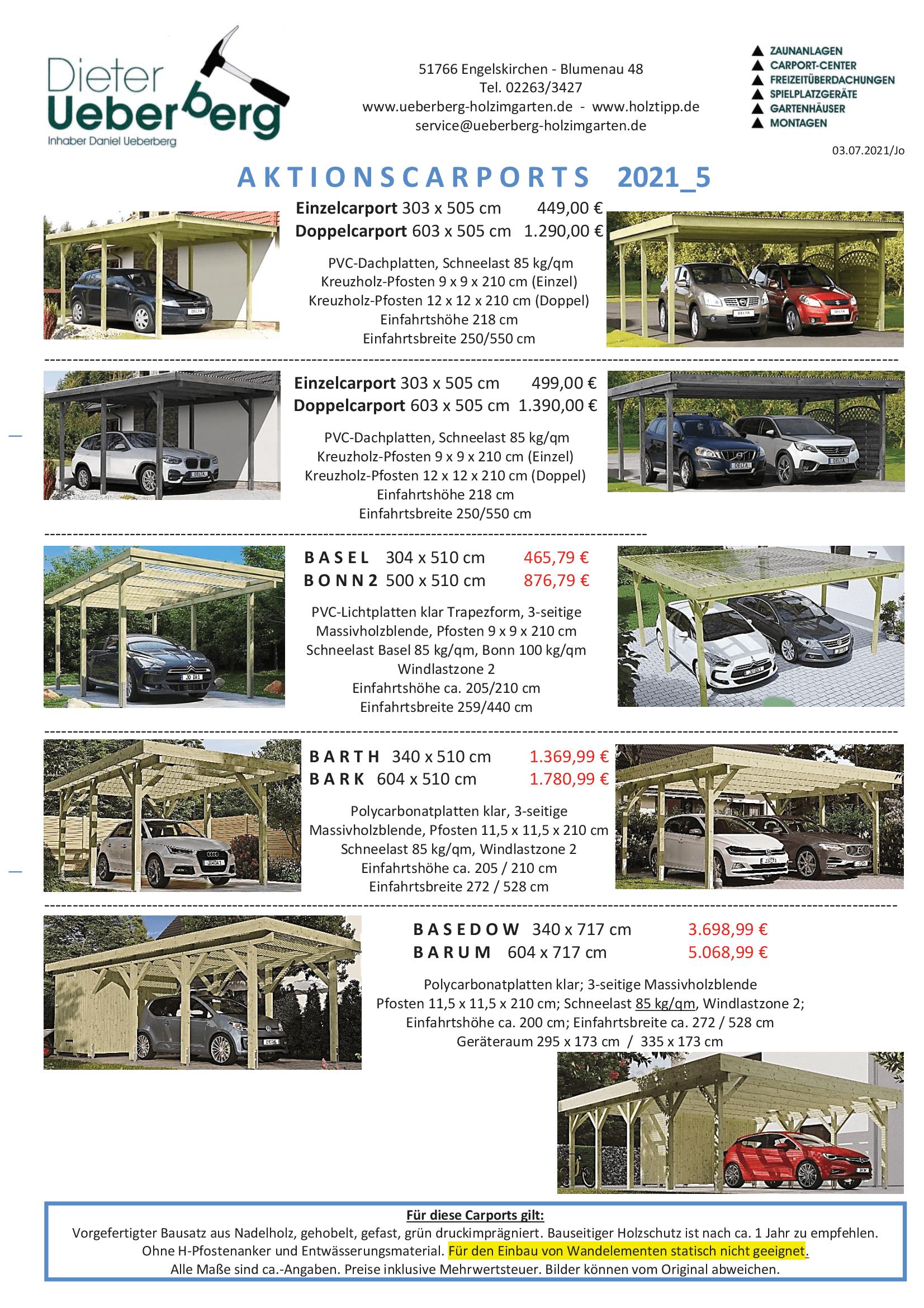 Carport Aktionen Ueberberg 2021_5