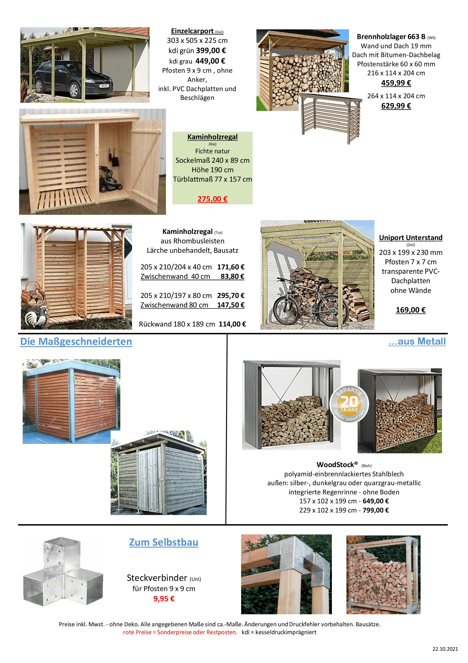 Kaminholzunterstände Ueberberg 2021 _7