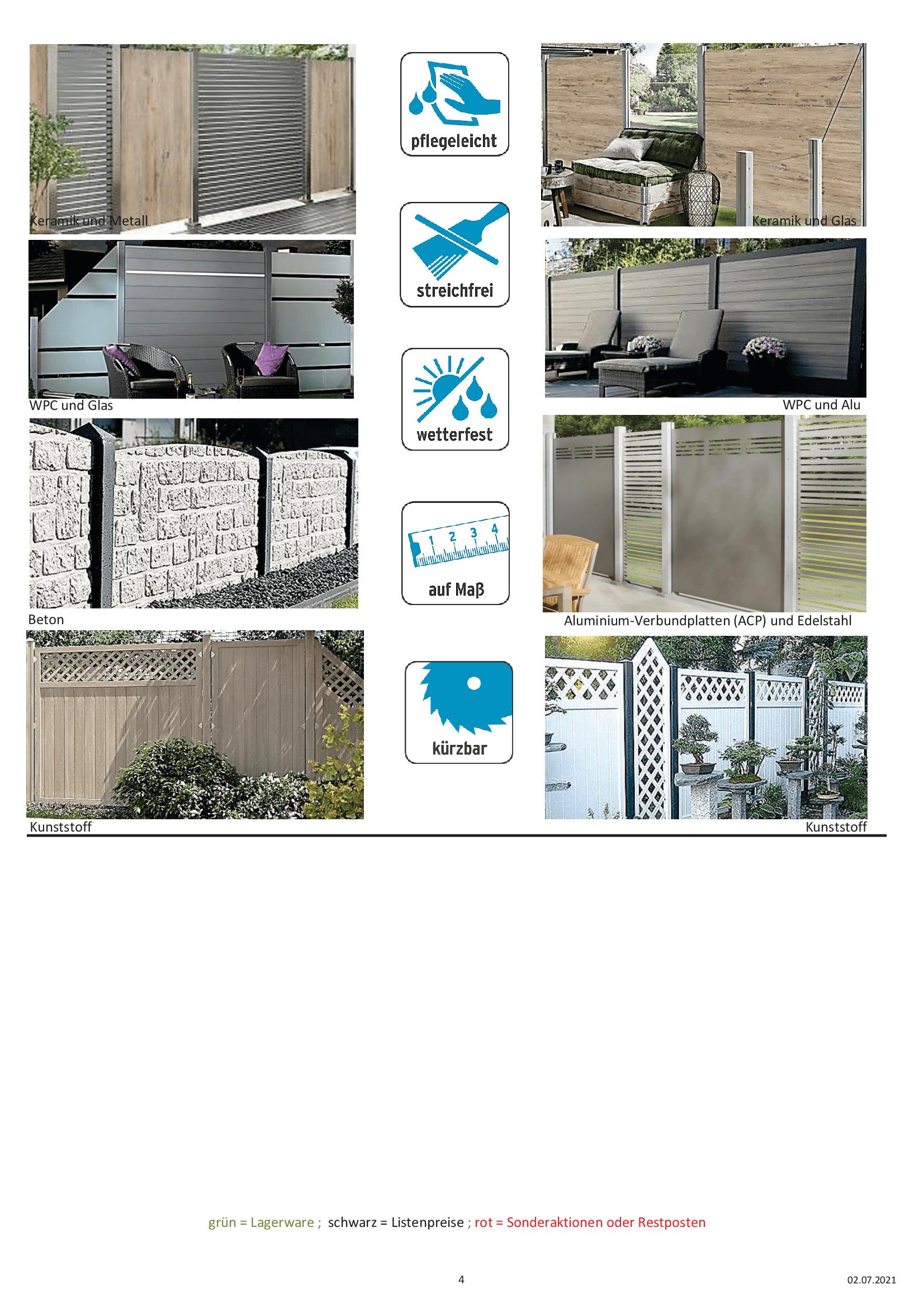 Angebote Sichtschutz und Zäune Ueberberg 2021_4