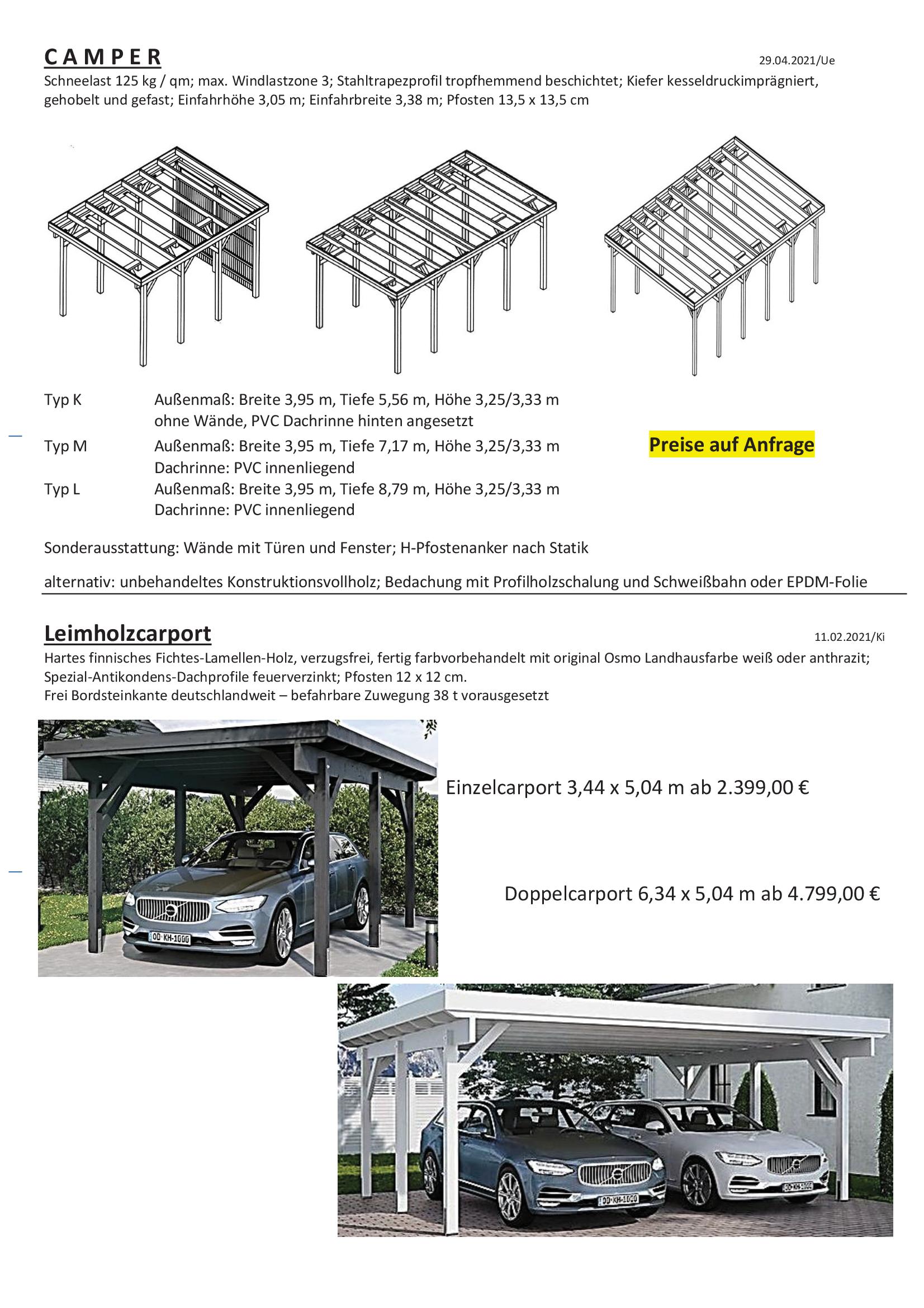 Carport Aktionen Ueberberg 2021_3