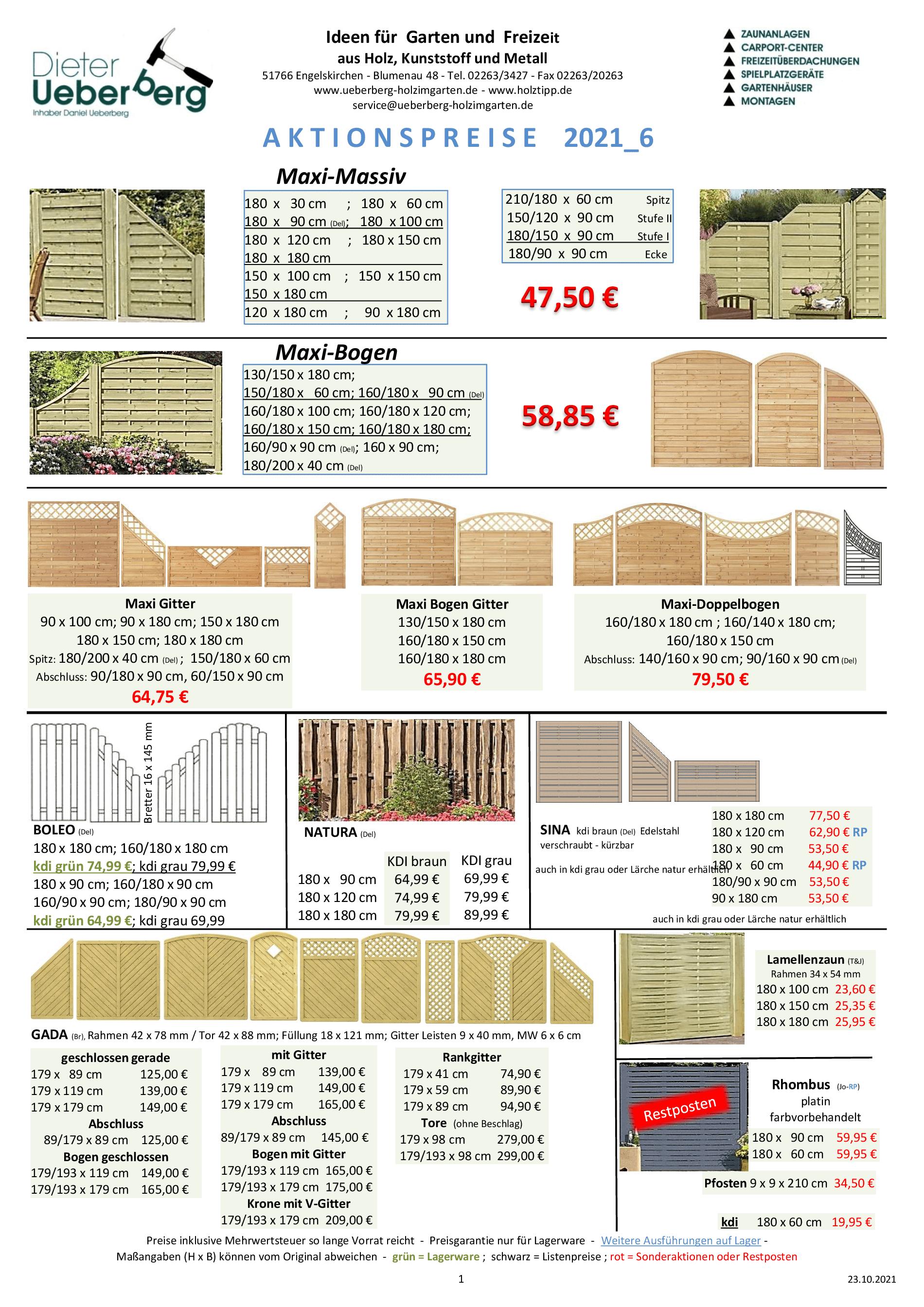 Sichtschutz und Zäune Ueberberg 2021_6